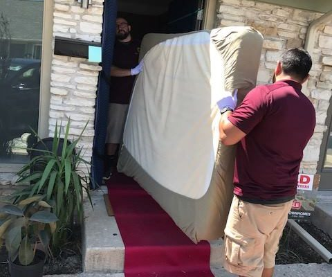 moving mattress out of house