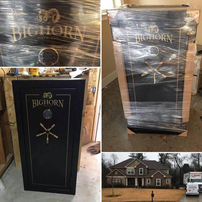 Bighorn safe being safely moved