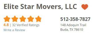 Elite Star Movers Homeadvisor Rating